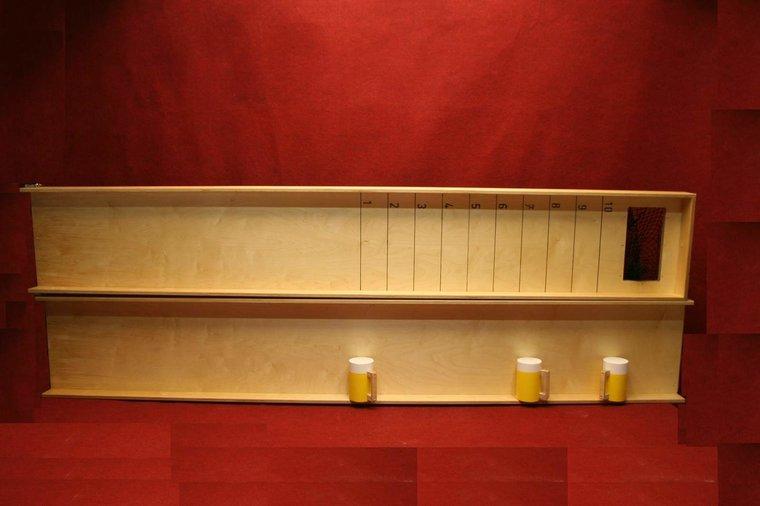 Bierpullschuiven 5 meter