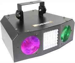 Strobe Lichteffect beamz uranus double moon