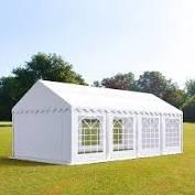 Party tent wit 6 x 4 brandvertragend