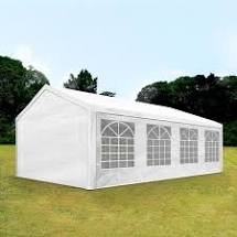 Party tent 8 x 4 wit