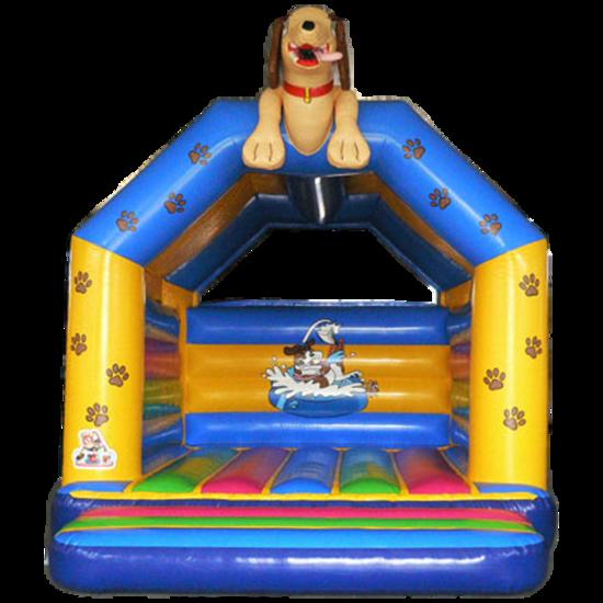 Springkussen Thema Hond